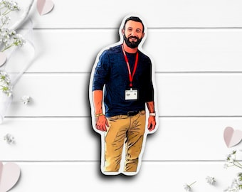 Matt Merrill Sticker, @mattmerrill on TikTok, Waterproof stickers