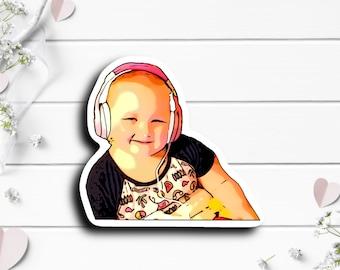 Leslie Sticker, @melanieprugh on TikTok, Cancer fighter, Tiny Warrior