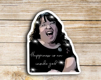 Alicia McCarvell Sticker, TikTok Artist, Waterproof Die Cut Stickers are perfect for laptops, planners, tumblers, or water bottles