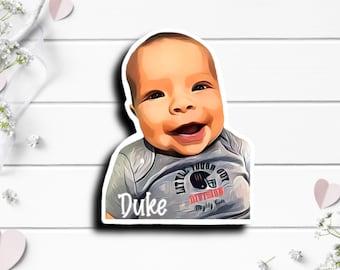 Duke Sticker, Tiny Warrior