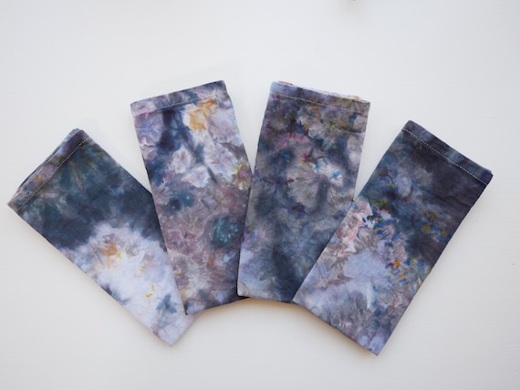 Geode-Inspired 100% Cotton Cloth Napkins