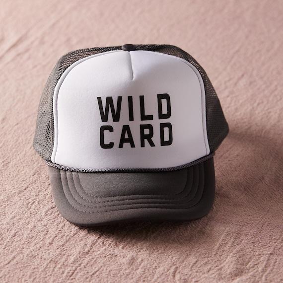 Wildcard Trucker Hat / Toddler + Kid + Women
