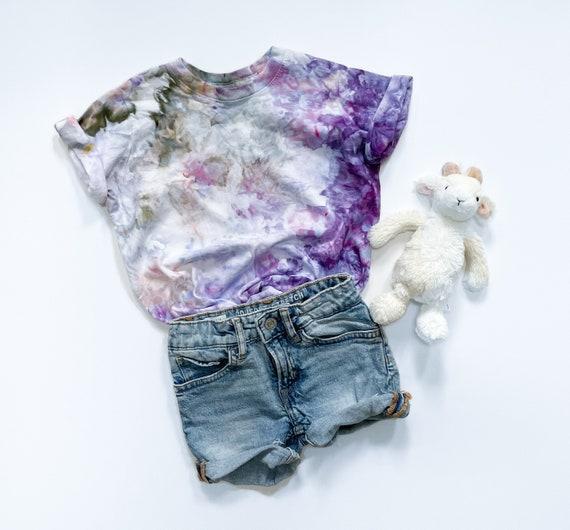 Wild Lavender Toddler Tee / Tie Dye T Shirt