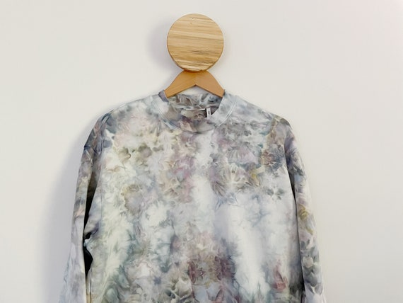 Geode Hand Dyed Boxy Sweater