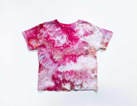 Peony Garden Toddler Tee / Tie Dye T Shirt