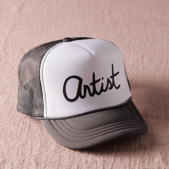 Artist Trucker Hat / Toddler + Kids + Women