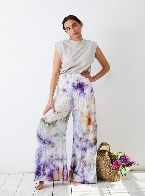 Wild Lavender Wide Leg Pants
