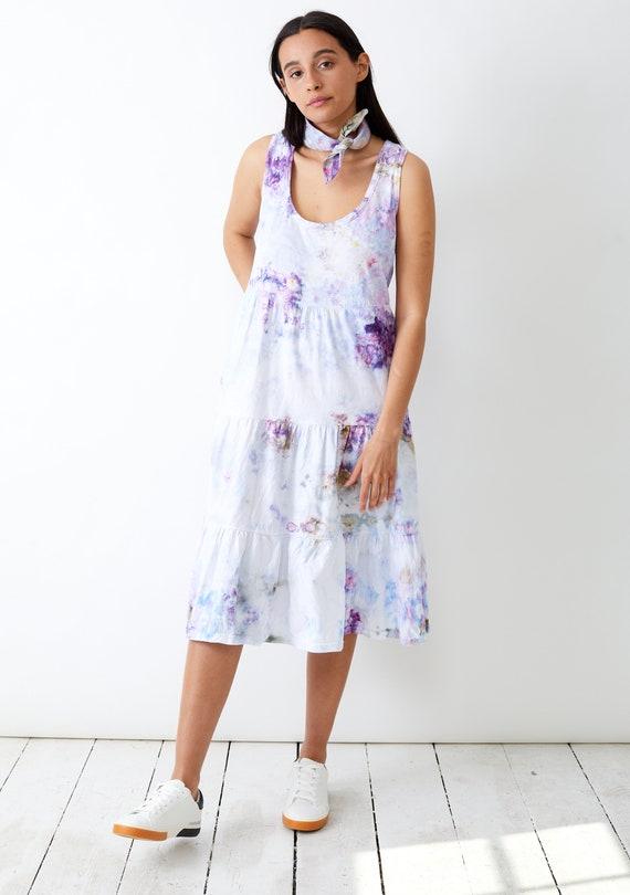 Wild Lavender Tiered Racerback Dress