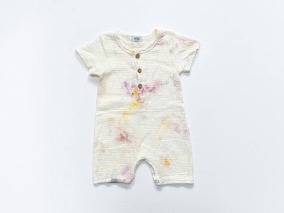 Aurora Toddler Short Sleeve Romper