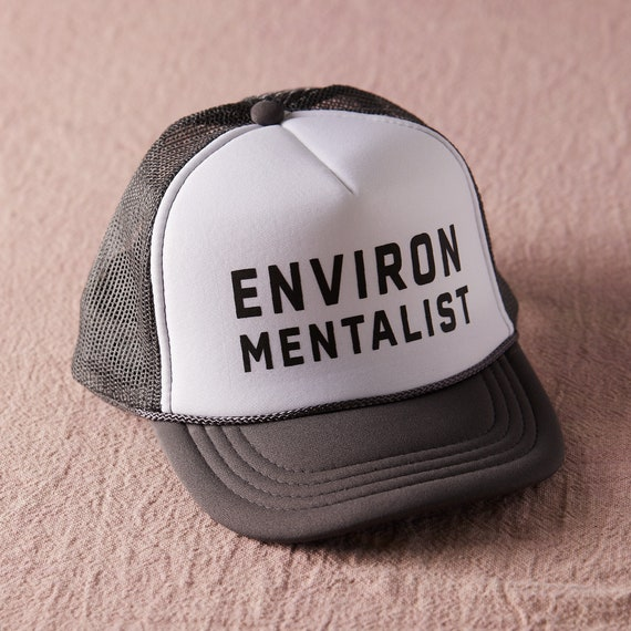 Environmentalist Trucker Hat / Toddler + Kids + Women