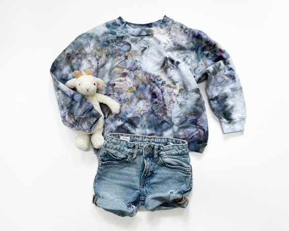 Geode Toddler + Kids Crewneck Sweatshirt