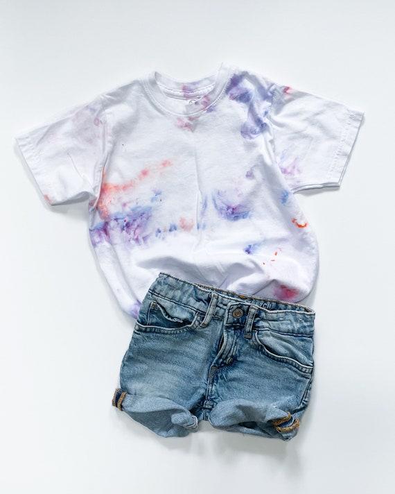 Bubble Gum Tee / Tie Dye T Shirt