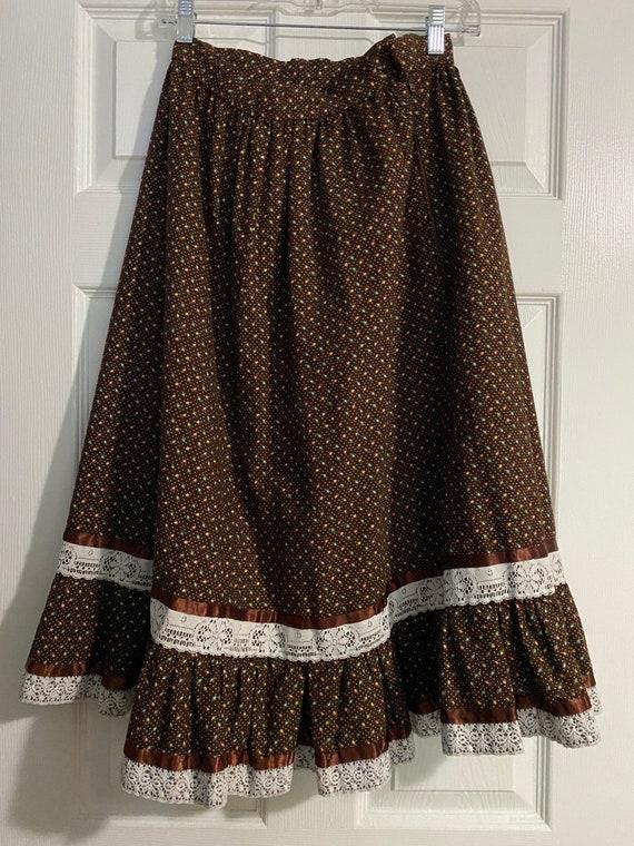 Vintage Gunne Sax Lookalike Handmade Skirt
