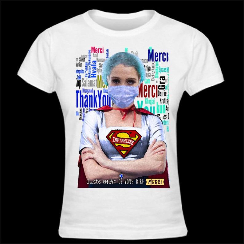 Stylish T-shirt Thanks to caregivers