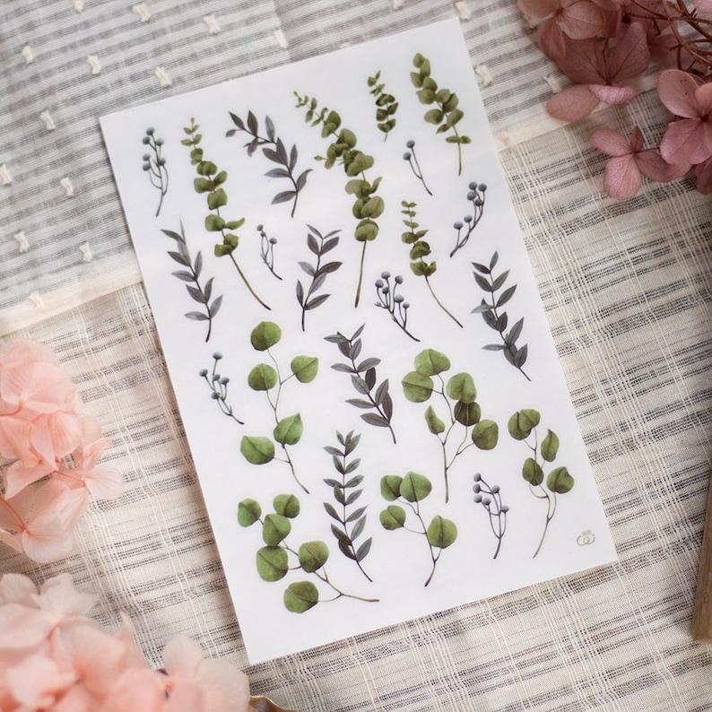 6 designspacket Loidesign Print-On Sticker Set Autumn