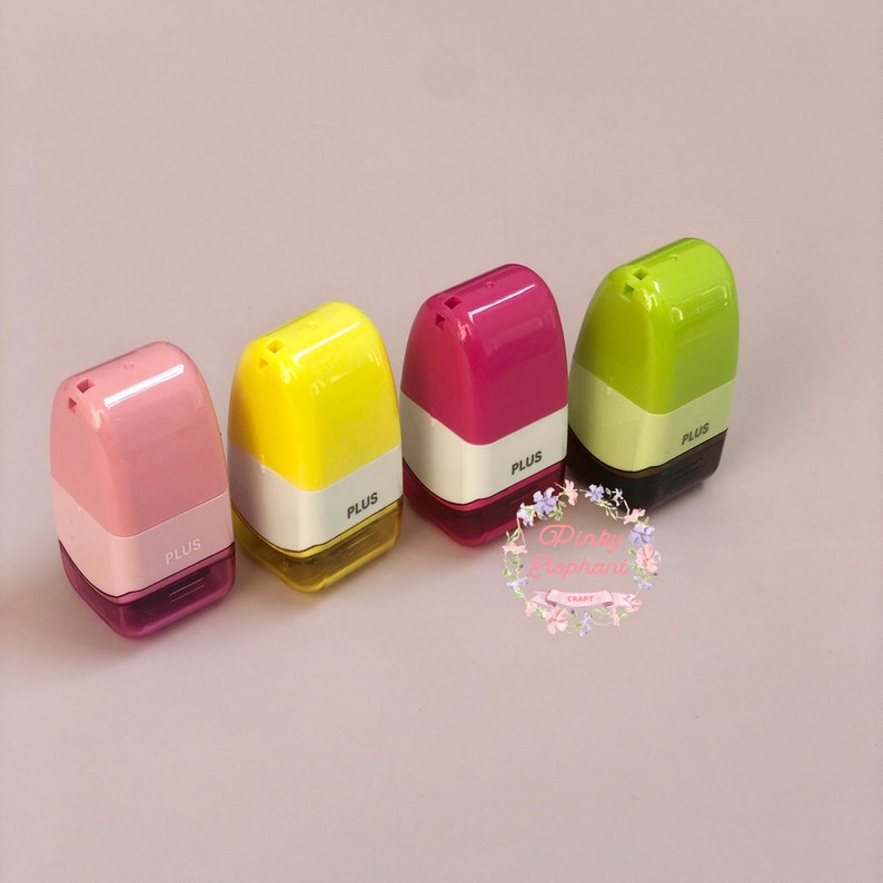 15mm wide prevent identity theft PLUS Identity Protection Roller Stamp mark up on address multiple colors ID guard self-ink stamp