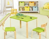 Premium Bentwood Kids Table and Chairs ASTM Certified