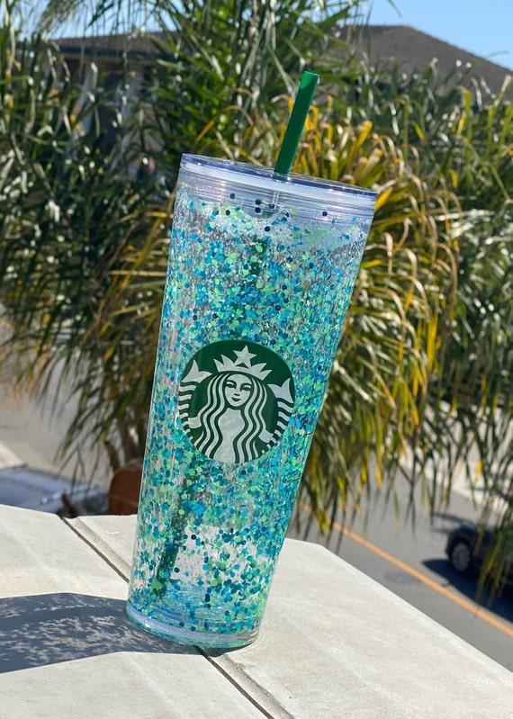 Starbucks snowglobe tumbler