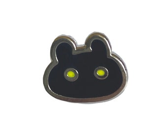 Botamon Digimon Mini Enamel Pin - anime manga cute flair lapel pin ita bag fandom tamagotchi virtual pet nostalgia 90s