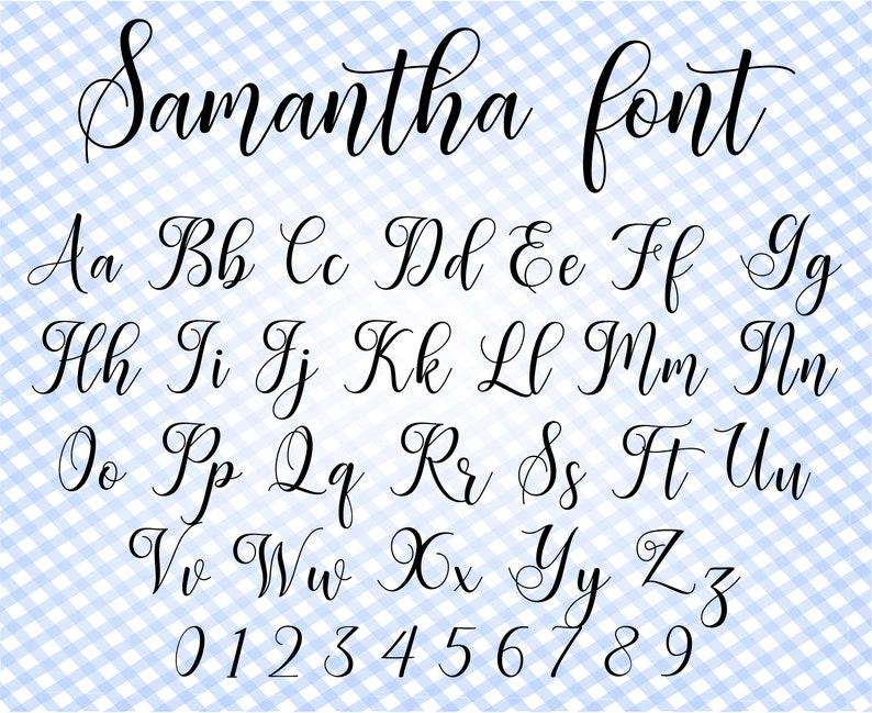 Download Cursive font svg Font for Cricut Font svg Calligraphy font ...