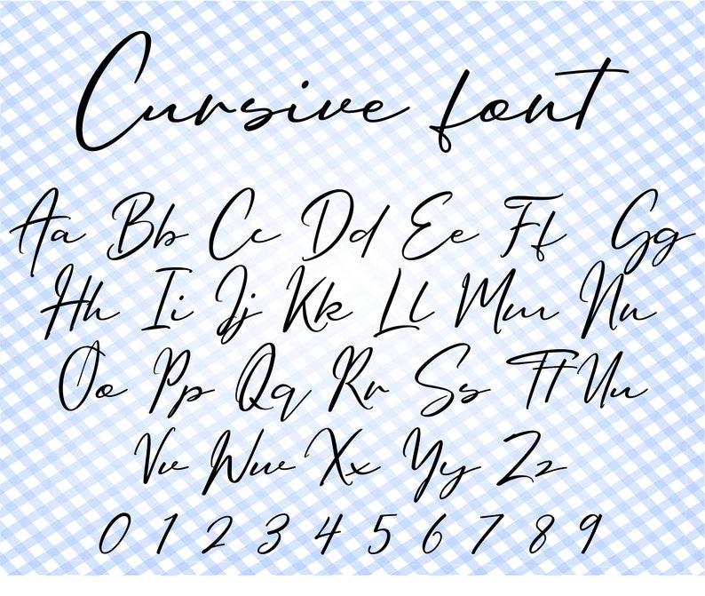 Download Cursive font svg Cricut font Wedding font svg Font writing ...