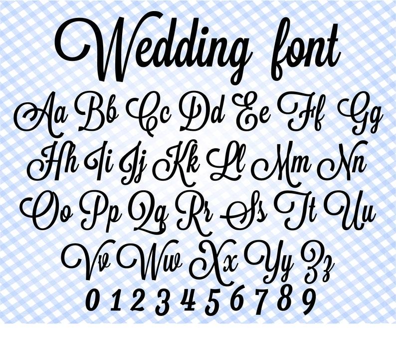 Download Wedding font svg Cursive font svg Cricut font Font writing ...