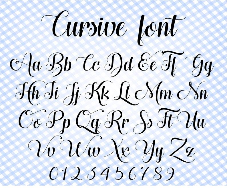 Download Font svg files for Cricut Cursive font svg Wedding font ...