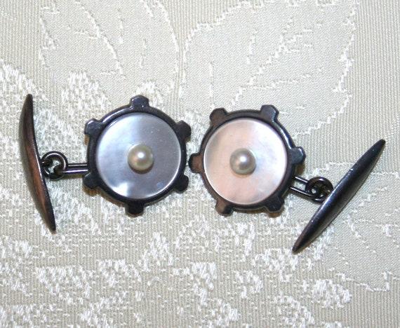 Vintage Japanese Cuff Links