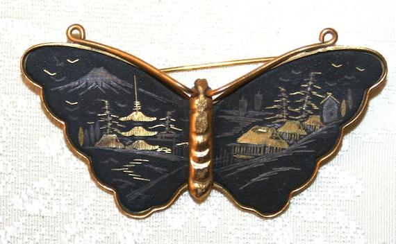 Vintage Japanese Brooch