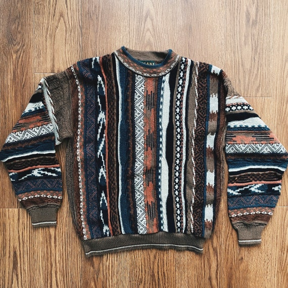 VINTAGE Coogi Style Knit Sweater