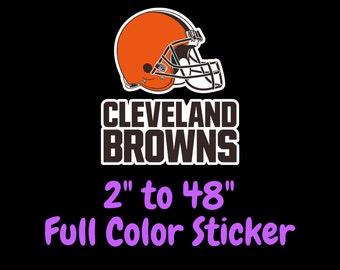 Cleveland Dawg Pound Sport Decal 5 X 4 Browns Football