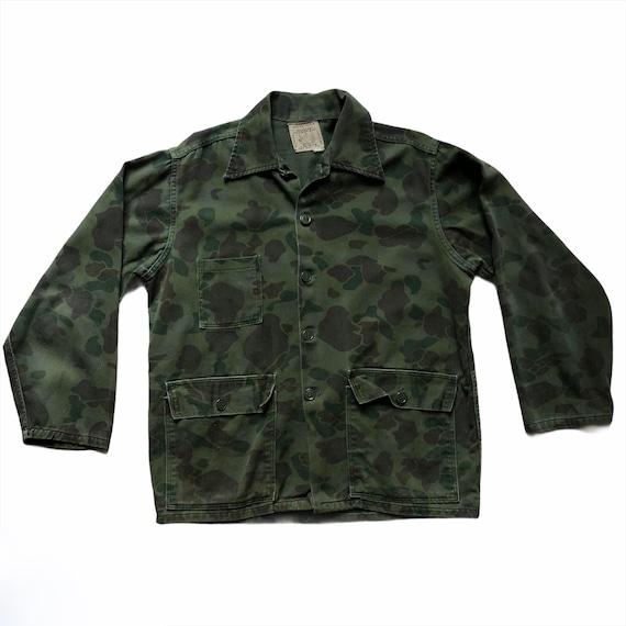 Vintage 50s Herters Hudson Bay Camouflage Shirt