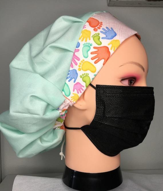 Toggle Medical Scrub cap/bouffant