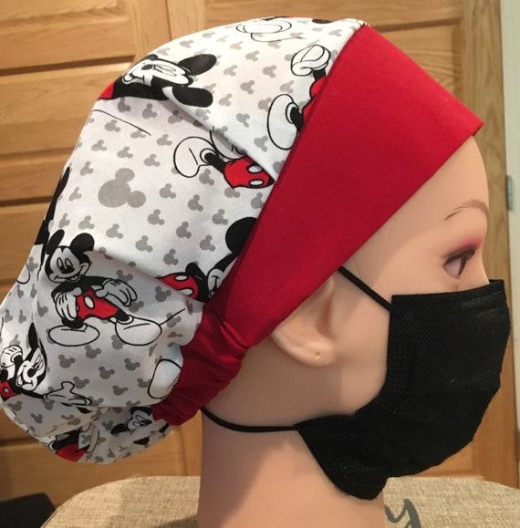 Mickey Mouse Disney Medical Scrub cap/bouffant