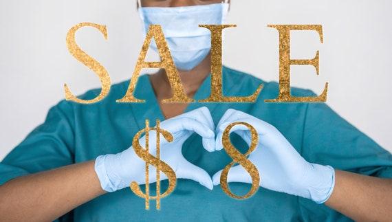 Sale ** Closet Clean Out Medical Scrub Bouffant
