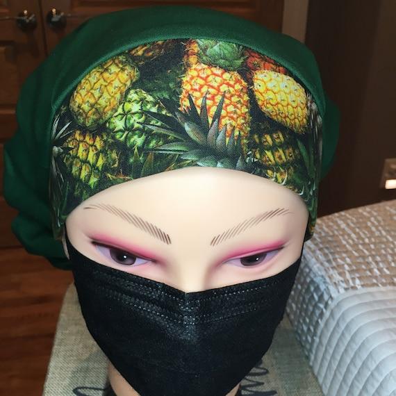 Pineapple Power Medical Scrub cap bouffant
