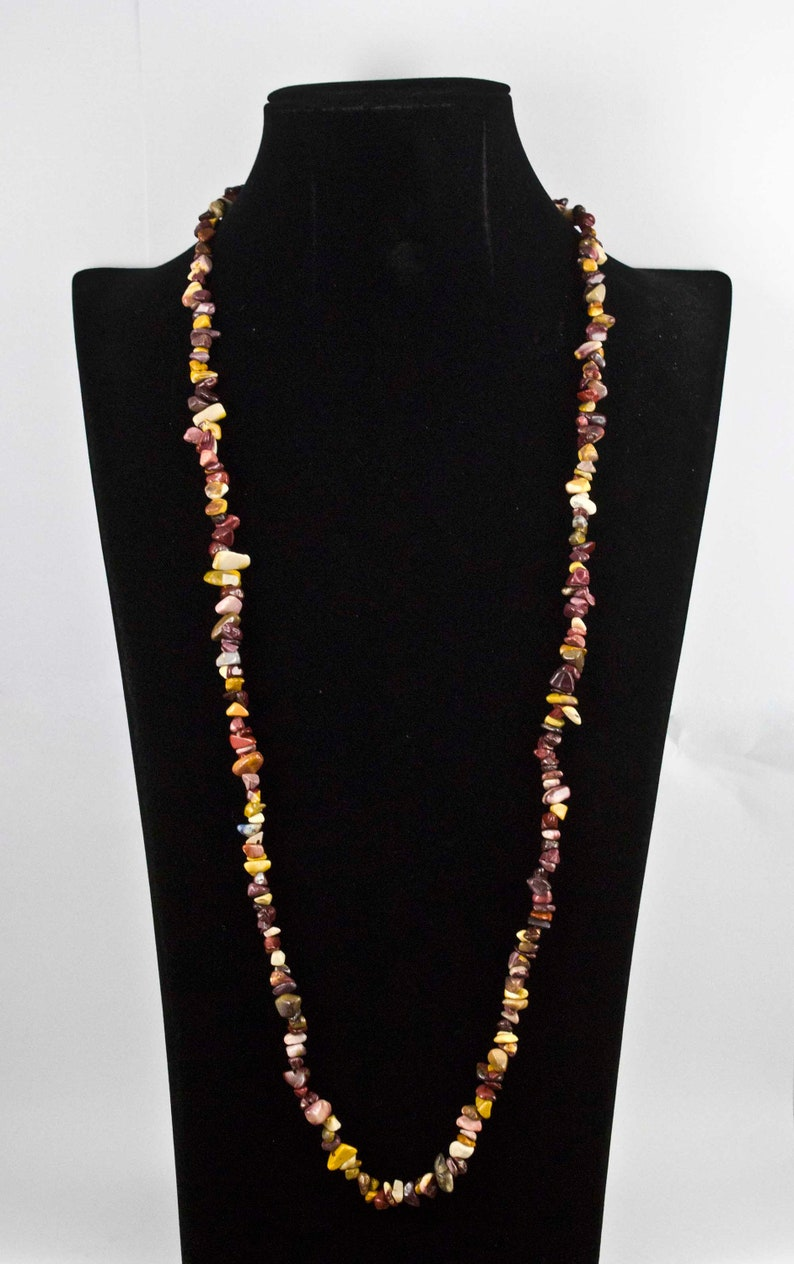 Mookaite Chip Necklace