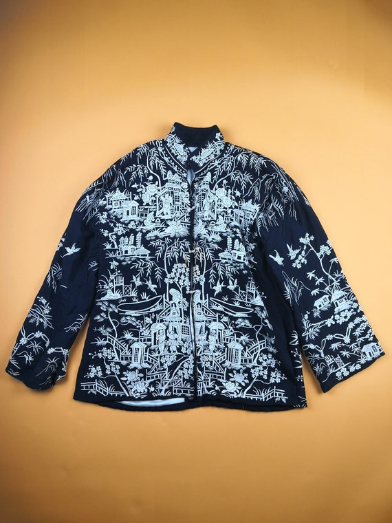 1930's Silk Chinese Patterned Jacket