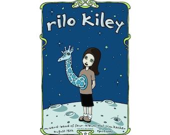 POSTER Rilo Kiley Tara Mcpherson Artist Signed Numbered Feist The Brunettes 2005 Concert