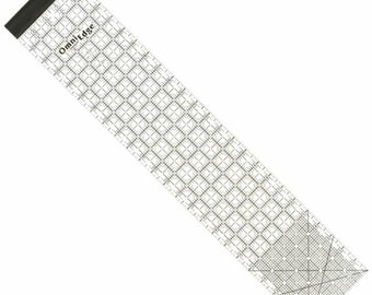 """OmniGrid - OmniEdge Clear Ruler 5"""" x 24"""", Sewing tools and supplies, Fabric marking tool"""