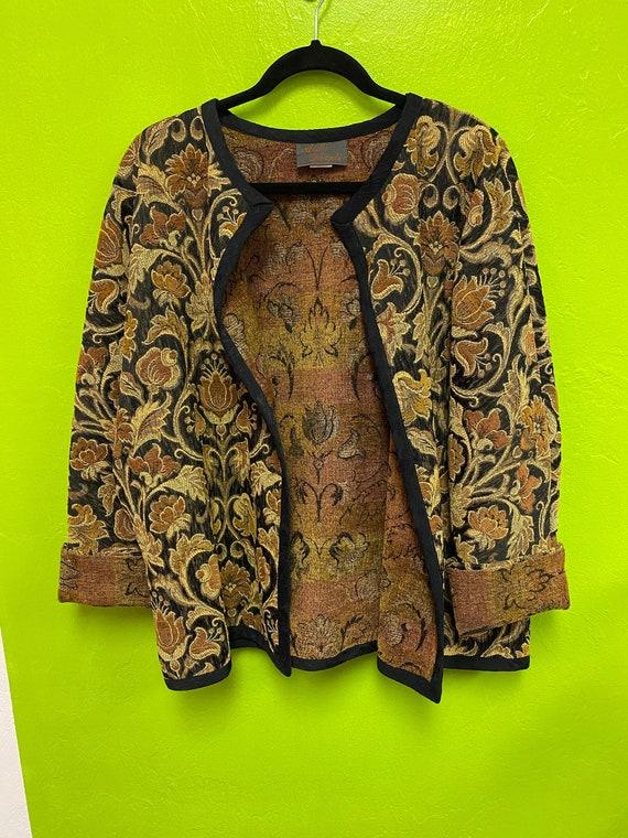 Vintage Aida Dalali Carpet Bag Jacket Oversized Ba