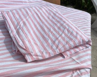 Wabasso 1970s Striped Pillowcases