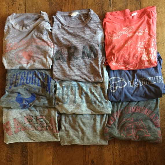 Vintage Graphic T-shirts - Distressed