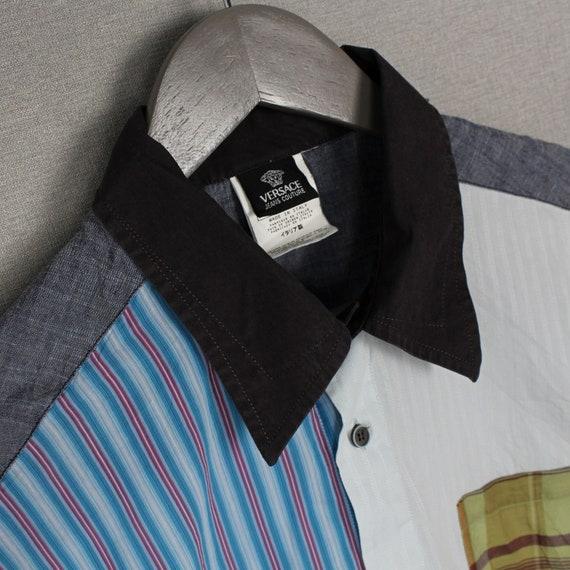 Versace Jeans Couture Mens Short Sleeve Shirt Siz… - image 4