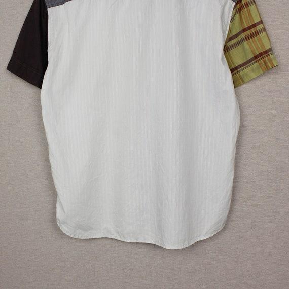 Versace Jeans Couture Mens Short Sleeve Shirt Siz… - image 7