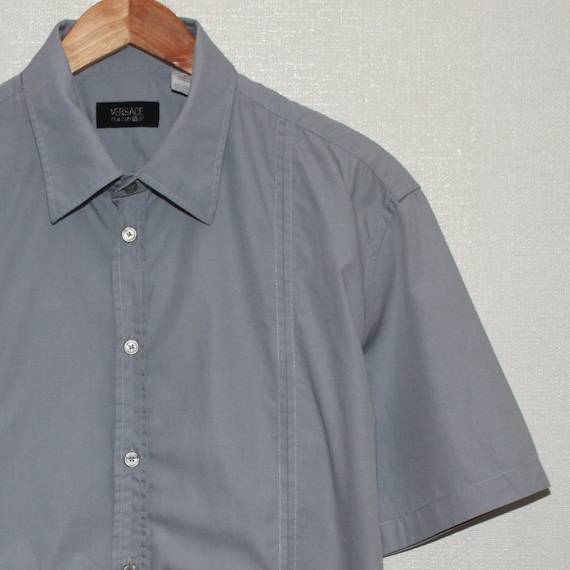 Versace Classic V2 Mens Short Sleeve Shirt Size L… - image 1