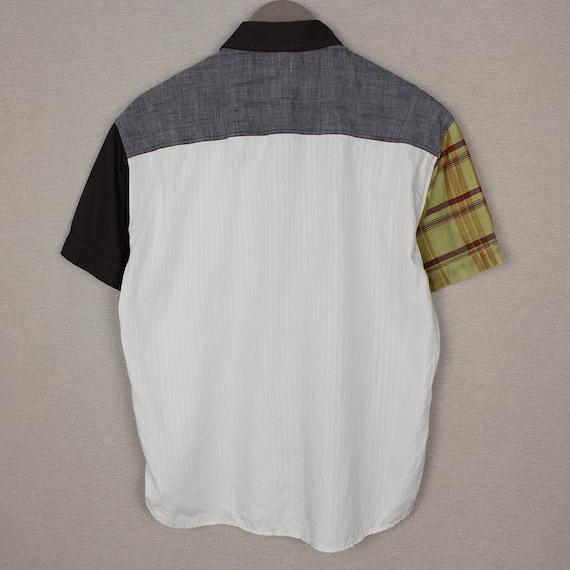 Versace Jeans Couture Mens Short Sleeve Shirt Siz… - image 2