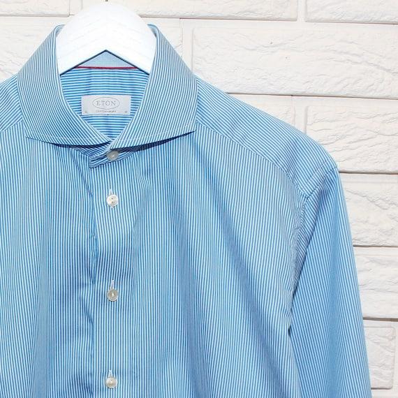Eton Contemporary Long Sleeve Shirt Size 41 / 16 L