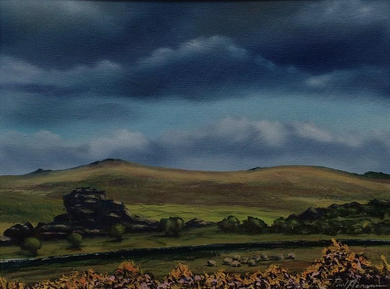 Vixen Tor  Paul Acraman Acrylic Painting image 0