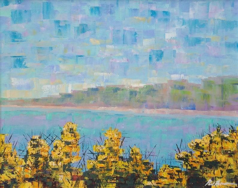 Sparkling Gorse  Paul Acraman Oil Painting image 0
